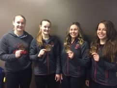 Girls Medals